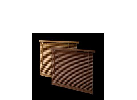 Żaluzje drewniane i bambusowe